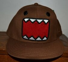 DOMO EMBROIDERED Flat Bill Hat OFFICIALLY Licensed Fitted Cap Adult