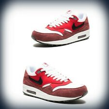 Men's Nike Air Max 1 Essential White/University Red 537383-116