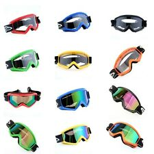 Motorcycle Motocross Dirt Bike Off Road Riding Goggles Windproof Anti-UV