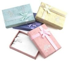 Jewellery Necklace Gift Box  - Choose your colour x 40 Wholesale