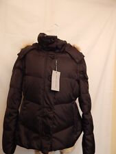 Andrew Marc Short Down Puffer Jacket w/ Zip off Sleeves and Hood  XL Black  NWT