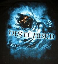 Disturbed Blue Haze  Heavy Metal Band Adult T-Shirt Brand NEW Tee Size XL