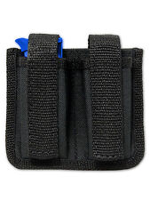 NEW Barsony Dbl Magazine Pouch for Llama, NA Arms Mini/Pocket 22 25 380 Pistols
