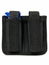 NEW Barsony Dbl Magazine Pouch for Bersa, Colt Mini/Pocket 22 25 380 Pistols