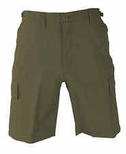 PROPPER OD POLY/COTTON RIPSTOP BDU SHORTS (army cargo military tactical)F5261