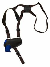NEW Barsony Brown Leather Thumb Break Shoulder Holster SIG Walther 380 9mm 40 45