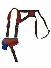 NEW Barsony Burgundy Leather Thumb Break Shoulder Holster SIG Walther 380 9mm 40
