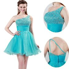 ON SALE~ Short Sweetheart Wedding Bridesmaid Evening Party Prom Cocktail Dresses