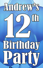 Birthday Door Banner and personalised wall banners - Various designs/party packs