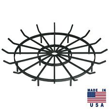 Wagon Wheel Grate for Outdoor Fire Pits (Multiple Sizes)