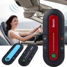 Wireless Stereo Hands-Free Car Kit Dual Phone Speaker for Cell Phones Blutooth S