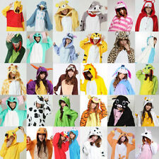 Unisex Adult Kigurumi Pajamas Cosplay Costumes Anime Onesie Dress Sleepwear Robe