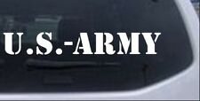 US Army Car or Truck Window Laptop Decal Sticker