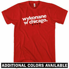 Made in Chicago T-shirt - Polish - Windy City 312 773 Chi - Men and Kids XS-4XL