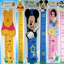 DISNEY BABY HEIGHT GROW BEDROOM SIZE CHART Mickey Mouse Winnie Pooh Snow White