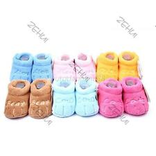 Cute Warm Baby Girl Boy Cotton Baby Kids Anti-slip Sock Prewalker Newborn Shoes