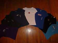NFL Fan Womans Short Sleeve Tops YOU CHOOSE team, style, color & size NEW Custom