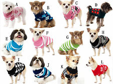 NEW 2014 Pet Dog Cat Puppy Clothes Knitted Dog Jumper Pet Sweater XS S M L XL