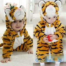 Baby Boy Girl Tiger Halloween Fancy Dress Party Costume Outfit Clothes 3-24M