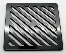 """6.5"""" 165mm Square metal steel Gully Grid Heavy Duty Drain Cover like cast iron"""