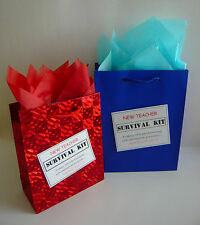 NEW TEACHER Survival Kit MALE Novelty Gift  Idea For Someone Becoming A Teacher