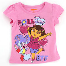 Dora the Explorer Toddler Pink T-Shirt XND7200 2T 3T 4T