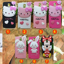 3D Hello Kitty Chat Silicone étui housse coque pour SAMSUNG GALAXY S5 I9600