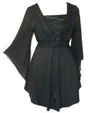 Women Plus Size Party Lace Chic Corset Top Tunic Size 12 14 16 18 20 22 NEW