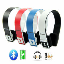 Wireless Bluetooth Stereo Headset Headphone For Galaxy Note 3 2 S3 S4 S5 iPhone