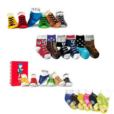 Baby Toddlers Socks (Cute Unique & Special Design Fake Shoes for boys) 6M-Age3