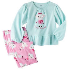 Just One You by Carter's Infant Girls 2 Pc Pajama Set Little Dreamer Sz 12M NWT