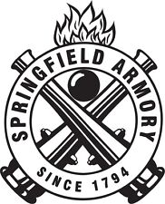 SPRINGFIELD ARMORY Vinyl Decal Window Sticker * Buy 3 get 1 Free*9mm handgun XD