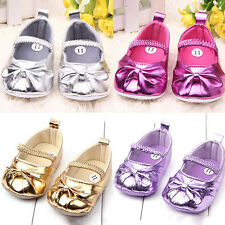 Baby Girl Shoes Infant Toddler Girls Shoes Prewalker PU Leather Shoes Size 4 5 6