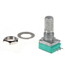 1/5/10/20/50/100/500 K ohm Linear Rotary Pot Potentiometer With Nut & Spacer UK