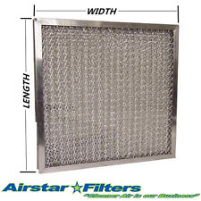 "1"" Pleated / Washable Metal Mesh Filter - Custom Made to Your Specifications"