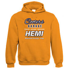 Cooters Garage Dodge Charger Hemi Muscle Car Hoodie