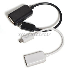 Micro USB Male To USB 2.0 Female OTG Connect Adapter Cable For Various Phone