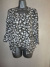 BNWT Brown White 2 Two Piece Top Vest Top By Kaleidoscope Various Size RRP £45