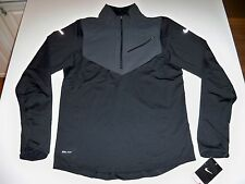 New with tag Nike Men's element stay warm 1/2 Half-Zip training shirt 502902-010