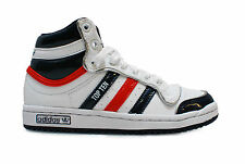 Kids Cheap Adidas Original Top Ten Hi White/Navy/Red UK12.5-1.5 £28