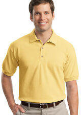 GILDAN HEAVYWEIGHT PLAIN POLO SHIRT COLOURS SIZES 3800
