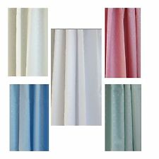 Luxury Shower Curtain, 100% waterproof weighted hem, with 12 free rings (180c…