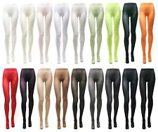 Womens 80D footed leggings Pantyhose Tights stocking stretchy pants