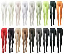 Womens 80D footed leggings stretchy leggings 80 denier