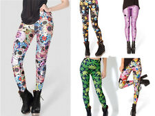 2014 Pirate Punk Galaxy Pants Digital Printing ADVENTURE TIME Leggings pop