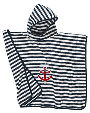 Neu Playshoes Maritim Badetuch Badeponcho Frottee Poncho Gr. S L Kapuzenhandtuch