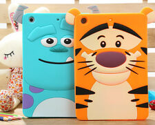 Fashion 3D Cute Lovely Pattern Soft Silicon Case Cover Apple ipad 2 3 mini1/2/3