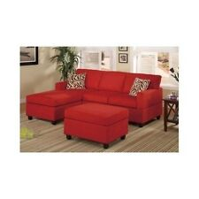 Chaise Sofa Couch Sectional Living Room Loveseat Chair Microfiber Reversible