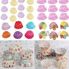 Design Muffin Cupcake Paper Cases Liners Baking Cups Party Wedding Xmas