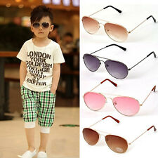 Fashion Cute Baby Boys Girls Kids Sunglasses Metal Frame Child Goggles 6 Colors
